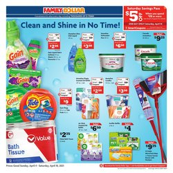 Discount Stores offers in the Family Dollar catalogue in Jackson MS ( Expires today )