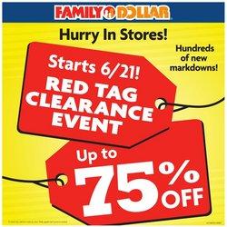 Family Dollar catalog ( Published today)
