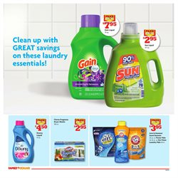 Detergent deals in the Family Dollar weekly ad in Los Angeles CA