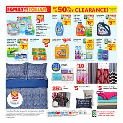 Trash bags deals in the Family Dollar weekly ad in New York