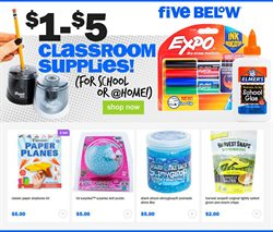 Five Below catalogue ( 12 days left )