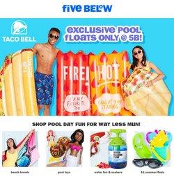 Five Below deals in the Five Below catalog ( 4 days left)