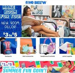 Discount Stores deals in the Five Below catalog ( 7 days left)