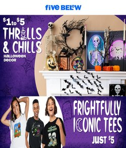Discount Stores deals in the Five Below catalog ( More than a month)