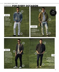 Jeans deals in the Saks Fifth Avenue weekly ad in New York