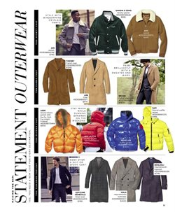 Coat deals in the Saks Fifth Avenue weekly ad in New York