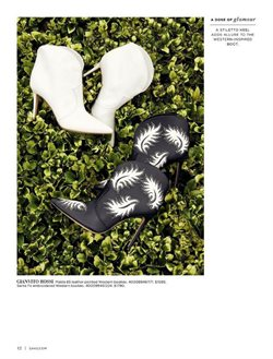 Boots deals in the Saks Fifth Avenue weekly ad in New York