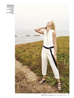 Sandals deals in the Saks Fifth Avenue weekly ad in New York