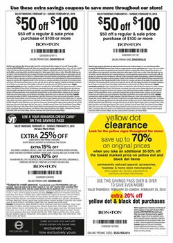 Bags deals in the Bon Ton weekly ad in Johnstown PA