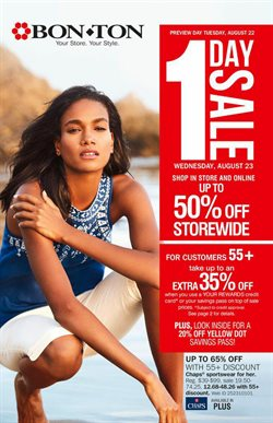 Bon Ton deals in the Milwaukee WI weekly ad