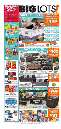 Big Lots deals in the Hot Springs National Park AR weekly ad