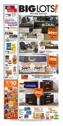 Big Lots deals in the Knoxville TN weekly ad