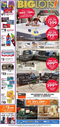 Discount Stores deals in the Big Lots weekly ad in Savannah GA