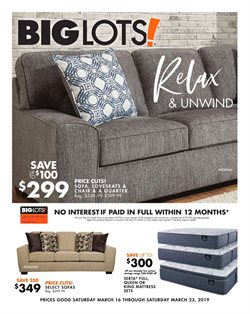 Big Lots deals in the Bothell WA weekly ad