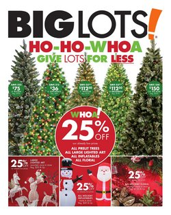 Discount Stores deals in the Big Lots weekly ad in Houma LA