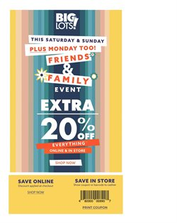 Discount Stores deals in the Big Lots weekly ad in Toledo OH
