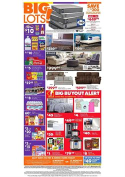 Big Lots catalogue in Baldwin Park CA ( 1 day ago )