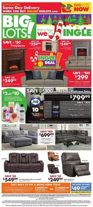 Discount Stores offers in the Big Lots catalogue in Santa Rosa CA ( 3 days left )