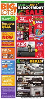 Discount Stores offers in the Big Lots catalogue in Canton OH ( Expires tomorrow )
