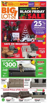 Discount Stores offers in the Big Lots catalogue in Canton OH ( 2 days left )