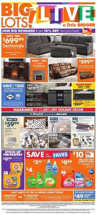 Discount Stores offers in the Big Lots catalogue in Des Plaines IL ( Expires tomorrow )