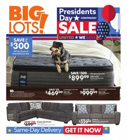Discount Stores offers in the Big Lots catalogue in Dallas TX ( Expires tomorrow )