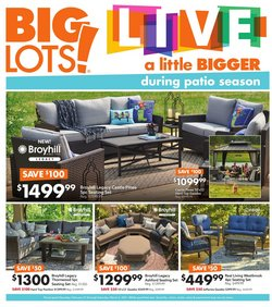 Discount Stores offers in the Big Lots catalogue in New York ( 3 days left )