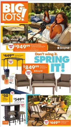 Big Lots catalogue ( 2 days ago )