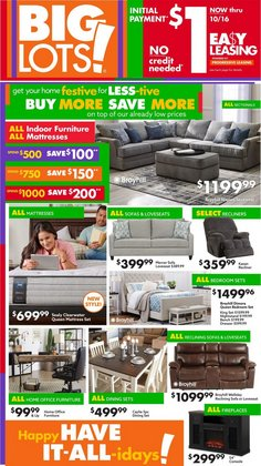 Discount Stores deals in the Big Lots catalog ( Expires today)