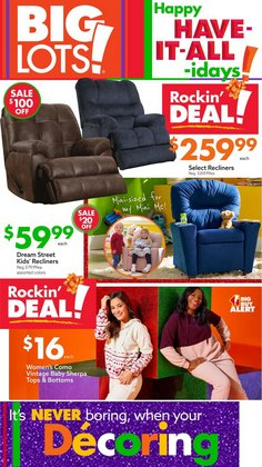 Big Lots catalog ( Published today)