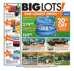 Big Lots deals in the Houston TX weekly ad