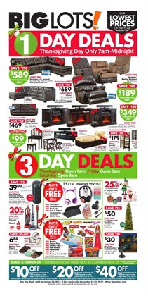 Big Lots deals in the Johnstown PA weekly ad