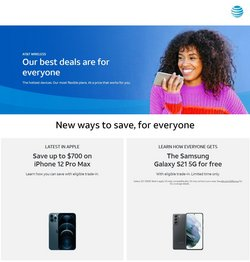 Electronics & Office Supplies deals in the AT&T Wireless catalog ( 2 days left)