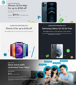 Samsung deals in the AT&T Wireless catalog ( 1 day ago)