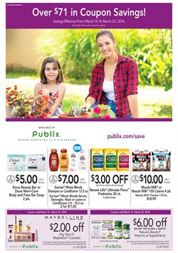 Publix deals in the Jacksonville FL weekly ad