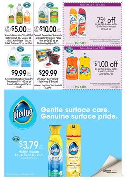 Detergent deals in the Publix weekly ad in Largo FL