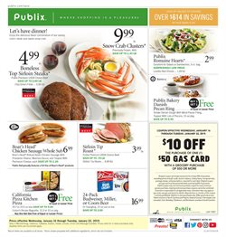 Publix deals in the Charlotte NC weekly ad