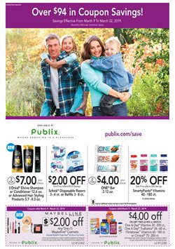 Grocery & Drug deals in the Publix weekly ad in Miami FL