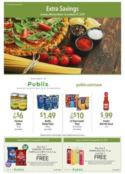 Grocery & Drug deals in the Publix weekly ad in Norcross GA