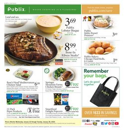 Publix deals in the Tallahassee FL weekly ad