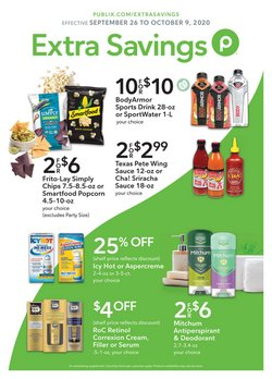 Publix catalogue ( 1 day ago )