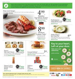 Publix catalogue in Charlotte NC ( 1 day ago )