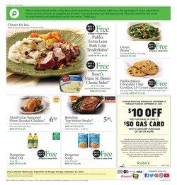 Grocery & Drug deals in the Publix catalog ( 3 days left)