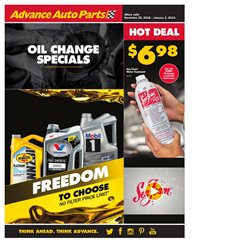 Automotive deals in the Advance Auto Parts weekly ad in Lafayette LA