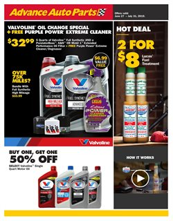 Advance Auto Parts deals in the Oklahoma City OK weekly ad