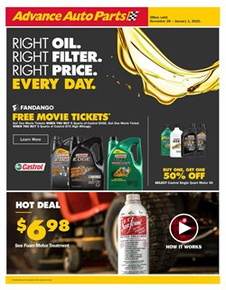 Advance Auto Parts deals in the Littleton CO weekly ad