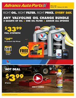 Advance Auto Parts catalogue ( 7 days left )