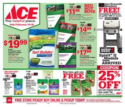 Tools & Hardware deals in the Ace Hardware weekly ad in Fontana CA
