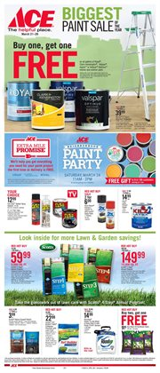 Tools & Hardware deals in the Ace Hardware weekly ad in Yorba Linda CA