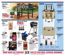 Matches deals in the Ace Hardware weekly ad in New York